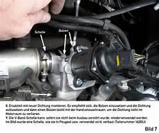 focus 2 facelift bj 08 10 da3 db3 agr ventil wechseln