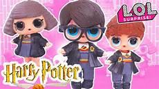 harry potter custom lol dolls series 2 with