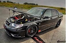 saab 9 5 tuning saab 9 5 quot line r quot project car is ready for the track