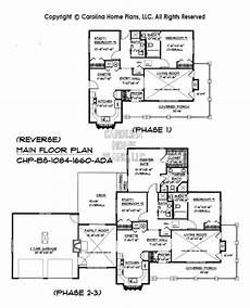 expandable house plans build in stages small house plan bs 1084 1660 ad sq ft