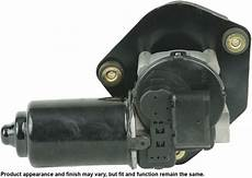 repair windshield wipe control 2007 lincoln town car seat position control windshield wiper motor front cardone 40 2007 reman fits 87 89 lincoln town car ebay