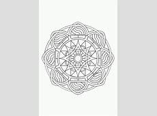 Mandala kleurplaten om zelf uit te printen