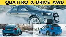 Quattro Vs Xdrive - quattro vs xdrive vs subaru awd who s going to win