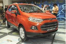 Ford Ecosport India Model Range Leaked Autocar India