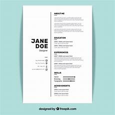 how should a resume be