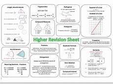 probability worksheets gcse higher 5797 maths gcse revision resources teaching resources