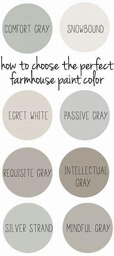 Farmhouse Paint Colors