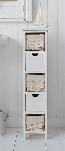schmaler badezimmerschrank 20 cm slim 20 cm wide cape cod white narrow storage drawers