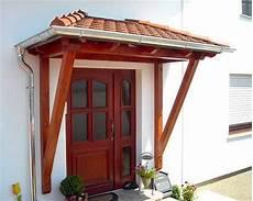 Holz Vordach Bausatz Gel 228 Nder F 252 R Au 223 En