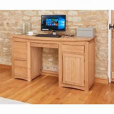 solid oak home office furniture roscoe solid oak furniture home office computer desk ebay