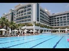 hotel side la grande resort spa turkey youtube
