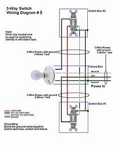 3 Way 4 Switch Wiring Diagram Ask The by How To Wire Three Way Switches Part 2