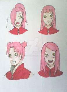 sakura different hairstyles 1 by yinharu95