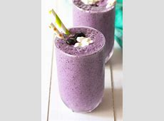 cottage cheese blueberry smoothie_image