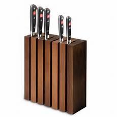 wusthof magnetic thermo beech knife block panik design