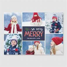 so very merry holiday photo collage magnetic card zazzle com