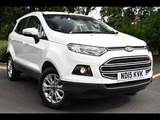 used ford ecosport 1 5 tdci zetec 5dr white 2015