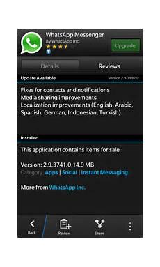 download whatsapp free for blackberry z10