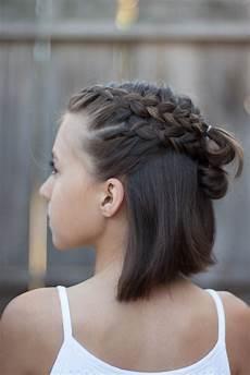 5 braids for short hair cute hairstyles
