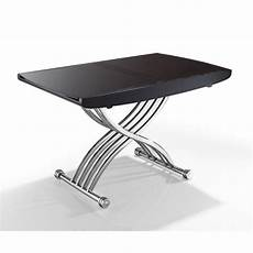 table basse relevable extensible venus marron achat