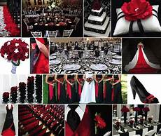 black wedding with red color combination png 717 215 606