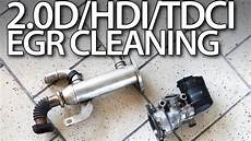 2 0hdi 2 0tdci 2 0d egr valve cleaning