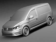 caddy maxi 2016 volkswagen caddy maxi 2016 3d model max obj 3ds