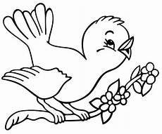 Belajar Mewarnai Gambar Burung Yang Lucu Untuk Anak