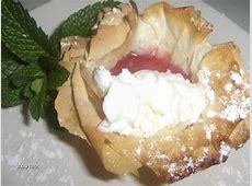 easy phyllo fruit tarts_image