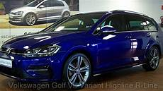 golf r blau volkswagen golf vii variant 1 4 tsi dsg highline r line