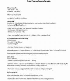 40 teacher resume templates pdf doc pages publisher