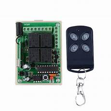 Bakeey 433mhz 315mhz Wireless Switch by 4ch 12v Rf Home Automation Remote Switch315mhz