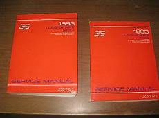 service manuals schematics 1993 chevrolet lumina apv regenerative braking 1993 chevrolet lumina apv 3 1l 3 8l gm factory repair service manual ebay