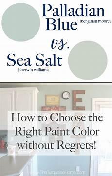 sea salt palladian blue choose paint colors without regrets