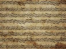 sheet music background with grunge stained paper paper textures for photoshop