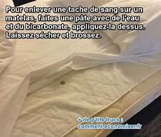 Tache De Sang Sur Un Matelas L Astuce Pour L Enlever