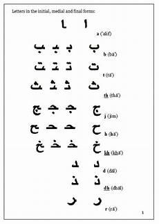 arabic handwriting question