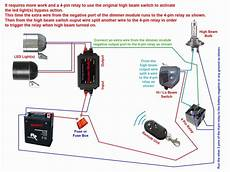 Electric Motorcycle Fuse Box Light by Wiring Diagram For Relay For Spotlights Webtor Me