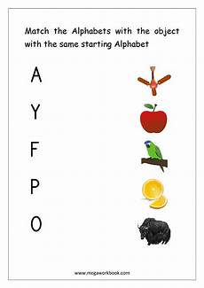 matching worksheets 15552 letter matching worksheet match object with the starting alphabet capital letters free