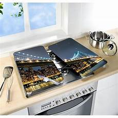 protection plaque de cuisson induction 81733 set 2 couvre plaques protection motif mathon fr