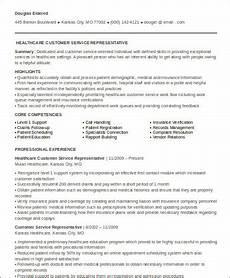 sle medical customer service resume 6 exles in word pdf
