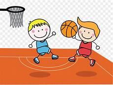 Gambar Kartun Anak Basket