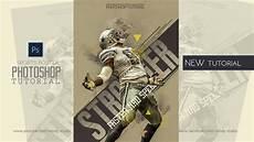 Adobe Photoshop Tutorial Sports Poster