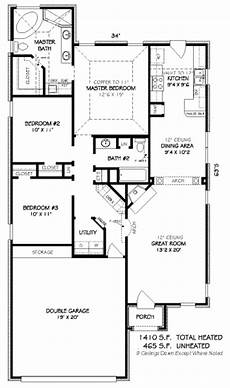 small european style house plans european style house plan 3 beds 2 baths 1410 sq ft plan