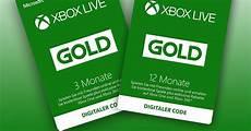 xbox live gold angebote drei monate kaufen drei gratis