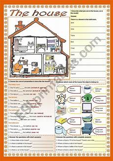 places in the house worksheets 15999 the house there is there are prepositions esl worksheet by zailda
