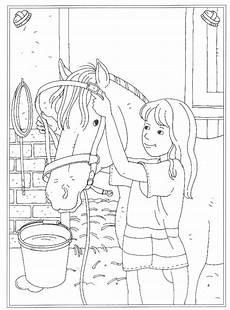 Ausmalbild Conni Pferd Reitschule Malvorlagen Malvorlagen1001 De