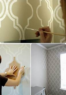 Wand Streichen Muster Ideen - diy paint wall pattern master accent wall sublime