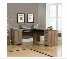 sears home office furniture sears com sauder harbor distressed desk corner computer