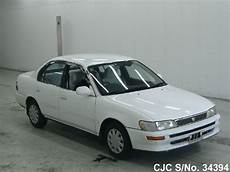 1993 toyota corolla white for sale stock no 34394 japanese used cars exporter